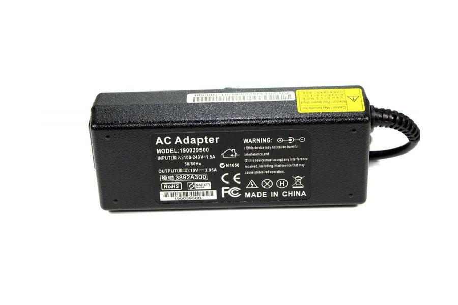 Блок питания для ноутбука Toshiba Satellite A/C/L/M/E-series 19V 3.95A (5.5*2.5 mm) 75W ADP-75SB-bb