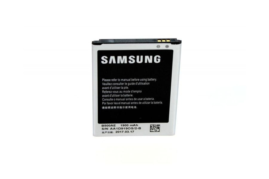 Аккумулятор Samsung B500BE (1900 mAh) для Galaxy S4 Mini GT-i9190 / i9192 Duos / i9195 / i9198