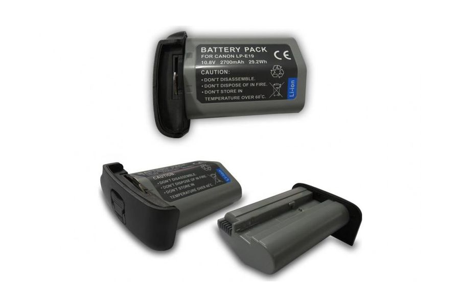 Аккумулятор Canon LP-E19 (2700 mAh, 10.8V, 29.20 Wh) для EOS-1D X Mark II